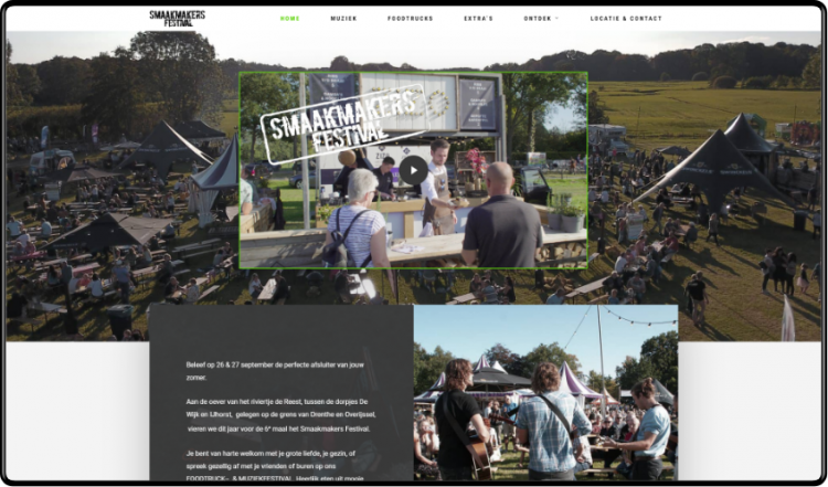 Smaakmakers Festival website