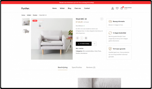 custom webshop